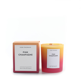 As Simple As Color Collection Pink Champagne 150g Scented Candle