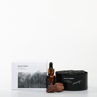 Sound of Wind Collection Black forest 15ml Essential Oil And 230g Scented Stone Gift Set