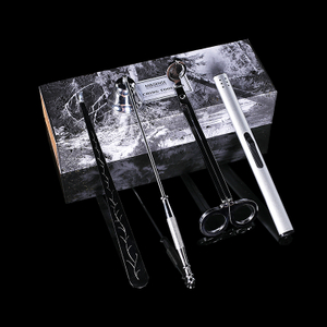 Forest Mist Silver Wick Trimmer Candle Snuffer Wick Dipper Candle Tools